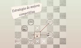 Estrategía de mejora competitiva