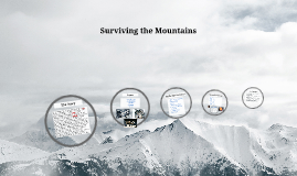 Surviving the Mountains