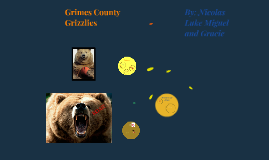 Grimes County GRIZZLIES