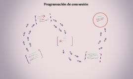 Programación de una sesión