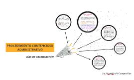 Procedimiento Contencioso Administrativo Federal. Vías de Tramitación