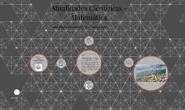 Atualidades Científicas- Matemática