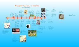 Ancient China Timeline by Katie LeComte on Prezi