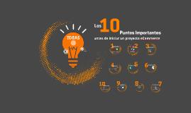 Los 10 Puntos importantes antes de iniciar un proyecto de eCommerce
