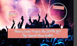 History Exam Project: On JOHN JAY