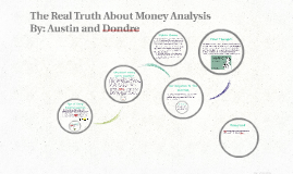 Money: The Real Truth About Money