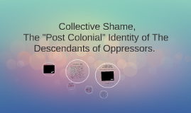"""Collective Shame, The """"Post Colonial"""" Identity of The Desce"""