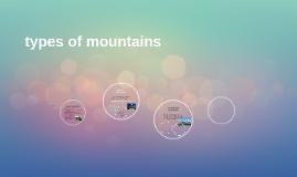 types of mountains