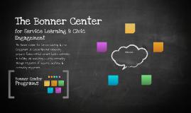 The Bonner Center