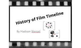 Copy of History of Film Timeline