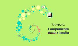 PROYECTO: CAMPAMENTO BAELO CLAUDIA
