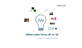 We School MRT-1 (When India Turns 29 in '20)