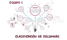 Copy of CLASIFICACION DE COLUMNAS