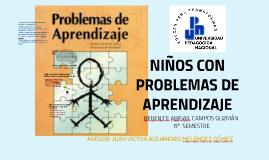 NIÑOS CON PROBLEMAS DE APRENDIZAJE