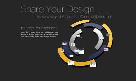 ShareYourDesign Step-by-Step