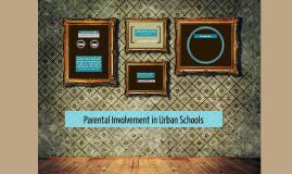 Parental Involvement in Urban Schools