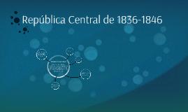 República Central de 1836-1846