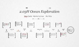 2.03H Ocean Exploration