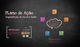 Plano de Ação - Service Desk