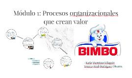 Módulo 1: Procesos organizacionales que crean valor