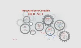 Procesamiento Contable - EJE II - SIC I