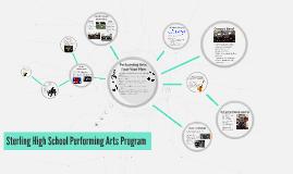 Performing Arts 4 Year Plan