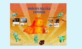 ANALISIS POLITICA EXTERIOR - ARGENTINA