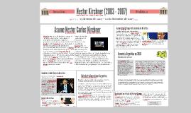Nestor Kirchner (2003 - 2007)