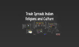 Trade Spreads Indian Religions and Culture