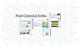 Post Colonial India