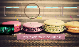 How to add Youtube videos!