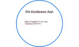 Die Konferenz-App