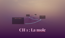 CH 1 : La mole