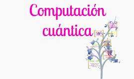 Copy of Computación cuántica