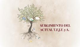 SURGIMIENTO DEL ACTUAL T.F.J.F. y A.