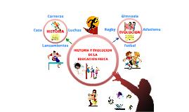 Copy of HISTORIA Y EVOLUCIÓN DE LA EDUCACIÓN FISICA