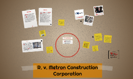 R. v. Metron Construction Corporation