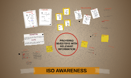 ISO AWARENESS