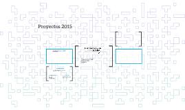 Proyectos 2015