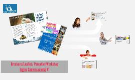 Brochure/Leaflet/Pamphlet WORKSHOP
