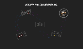 Beta Chapter at UIC - Informational [SP18]