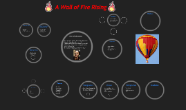 wall of fire rising