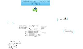 Copy of LA ERGONOMÍA, FACTOR HUMANO Y EL EQUIPO