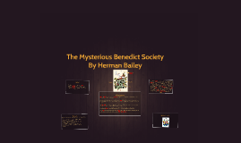 Copy of The Mysterious Benedict Society