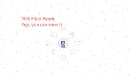 Milk Fiber Fabric