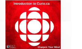 Introduction to Curio.ca