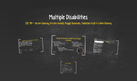 Copy of Multiple Disabilities