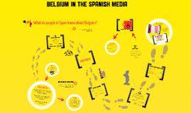 Belgium in the Spanish media