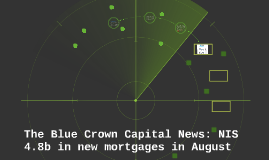 The Blue Crown Capital News: NIS 4.8b in new mortgages in Au
