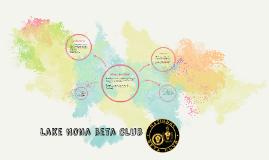 Lake Nona Beta Club